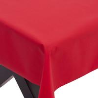 Gecoat Tafellinnen Maly Rojo Rood Effen 160CM
