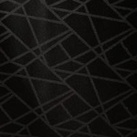 Gecoat Tafellinnen Lines Zwart