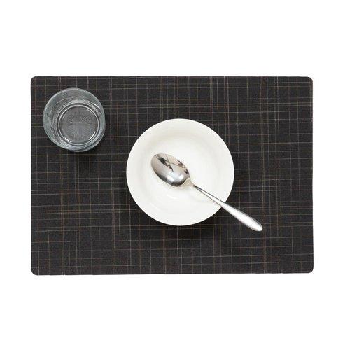 Placemat Liso Zwart