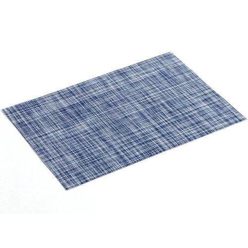 Placemat PVC Punto Donker Blauw