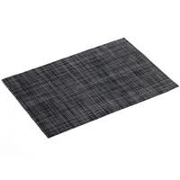 Placemat PVC Punto Zwart