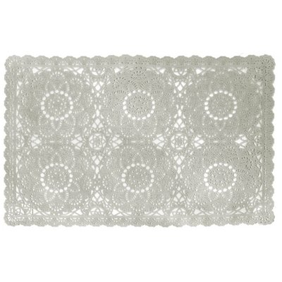 Placemat PVC Kant Taupe