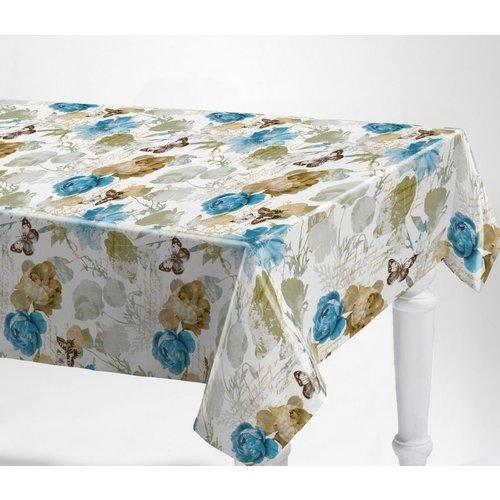 Tafelzeil Alarba Azul Bloemen