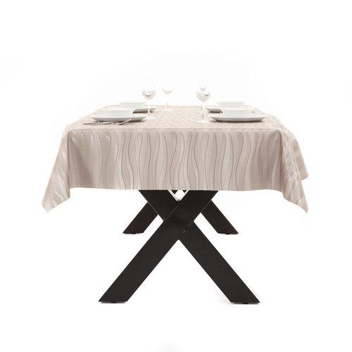 Gecoat Tafelkleed Deluxe Onix Taupe