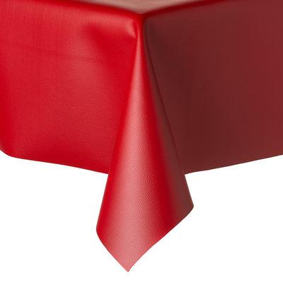 Tafelkleed Kunstleer Rood 140 CM