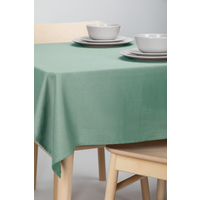 Tafelkleed Dordogne Effen Groen 140 x 250 CM