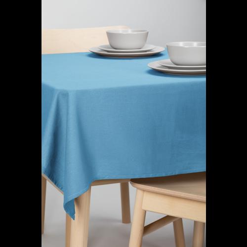 Tafelkleed Dordogne Effen Blauw 140 x 250 CM