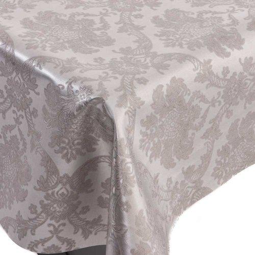 Gecoat Tafelkleed Deluxe Amatista Zilver