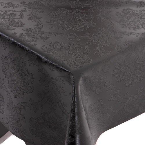 Gecoat Tafelkleed Deluxe Amatista Zwart