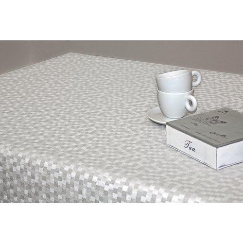 Gecoat Tafelkleed Deluxe Dijon Wit