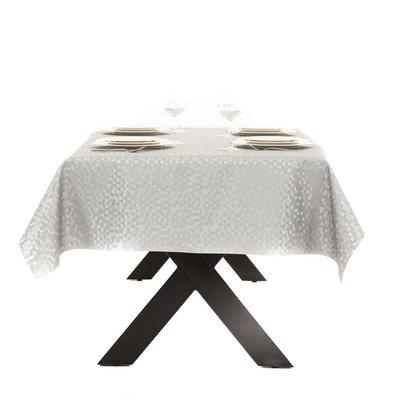 Gecoat Tafelkleed Deluxe Dijon Zilver