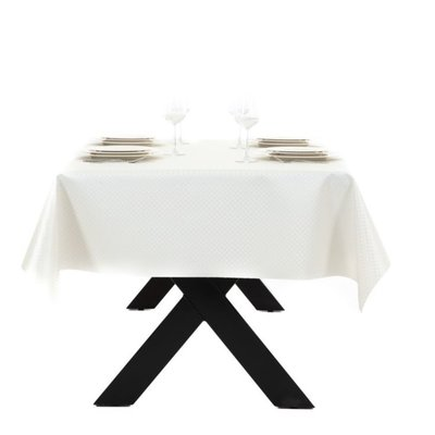 Gecoat Tafelkleed Deluxe Zafiro Wit