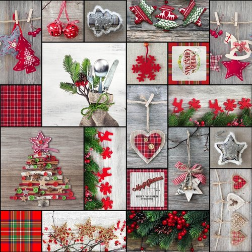 Gecoat Tafelkleed Merry Christmas