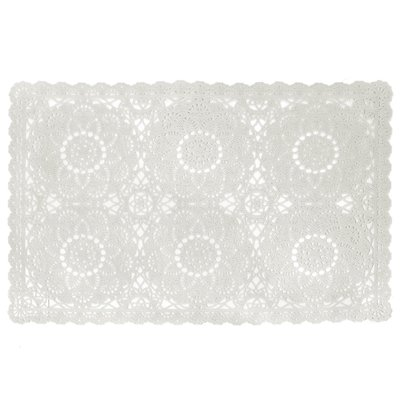 Placemats Dentelia Wit