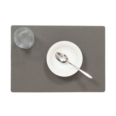 Placemats Uni Antraciet