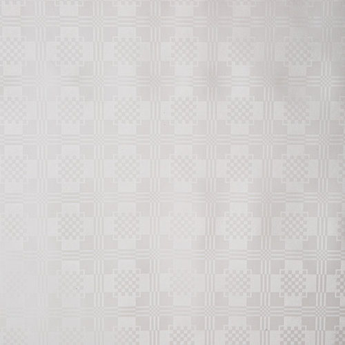 Tafelzeil Damast Wit