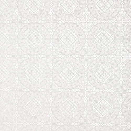 Tafelzeil Kant Blok Wit