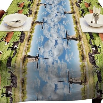 Tafelzeil Holland Molens 140 x 250 CM