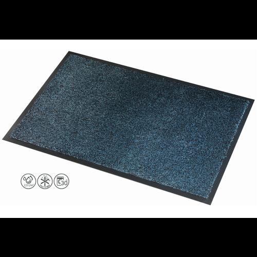 Droogloopmat Deurmat Microm Zwart - Grijs - 8 mm Dik