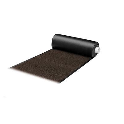 Droogloopmat Deurmat Faro Zwart - Roest Op Maat - 8 mm Dik 113 cm Breed
