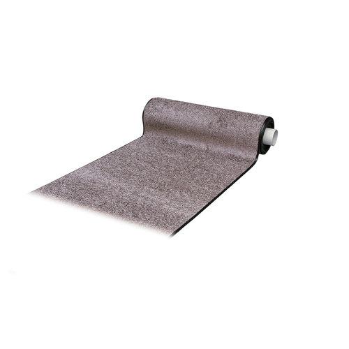 Droogloopmat Deurmat Op Maat Washclean Licht Lila - 9mm Dik - 112cm Breed