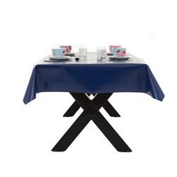 Blauw tafelzeil