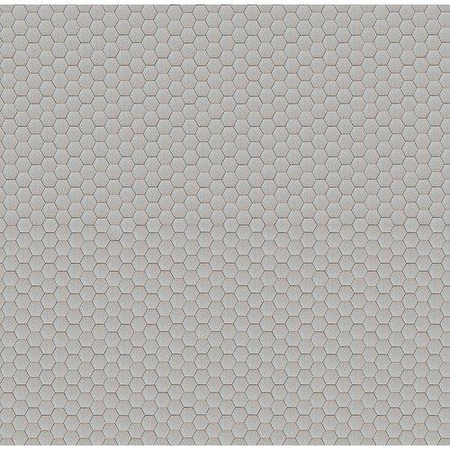 Superwoonwinkel Raamfolie Statisch Hexagon - 92 CM Breed