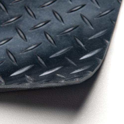 Rubberen Mat Diamant - Op maat - 3mm