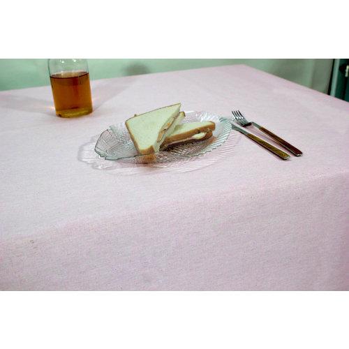 Gecoat Tafellinnen Tabac Pink