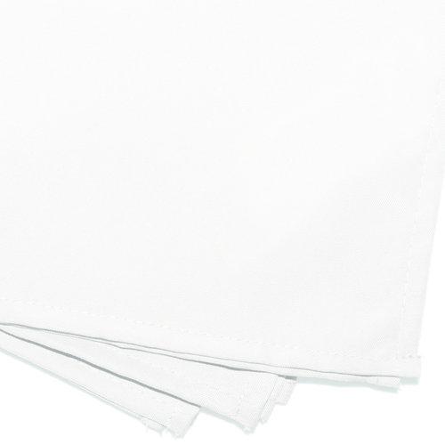 Servetten Essentiel 40x40cm Polyester Wit