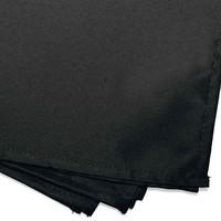 Servetten Essentiel 40x40cm Polyester Zwart