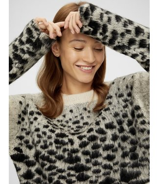 Mamalicious Mlblanche knit crop top
