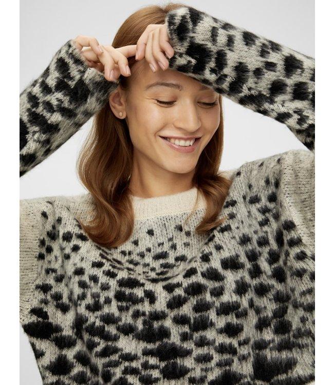 Mlblanche knit crop top