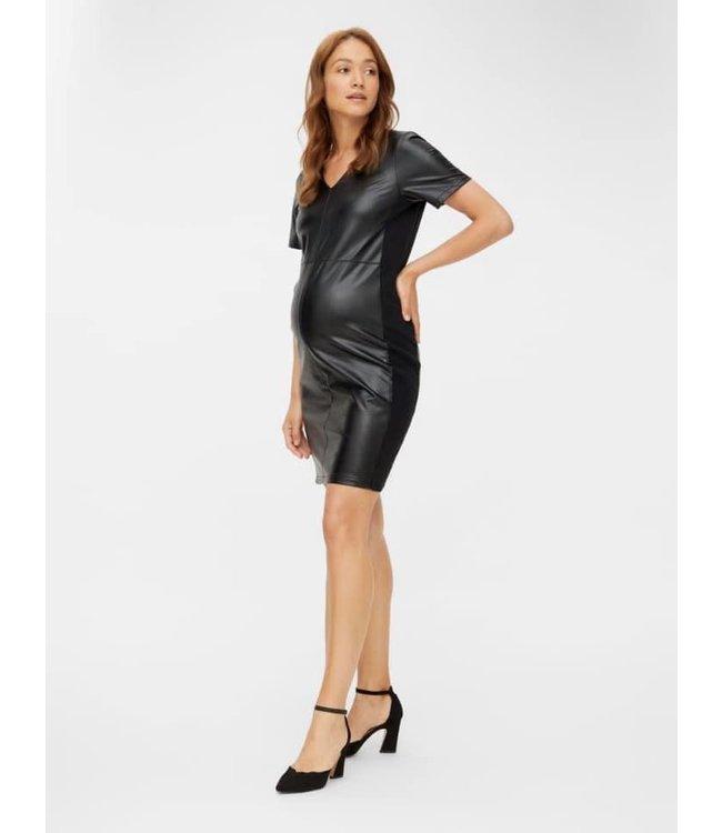 Mlkeyla leatherlook dress