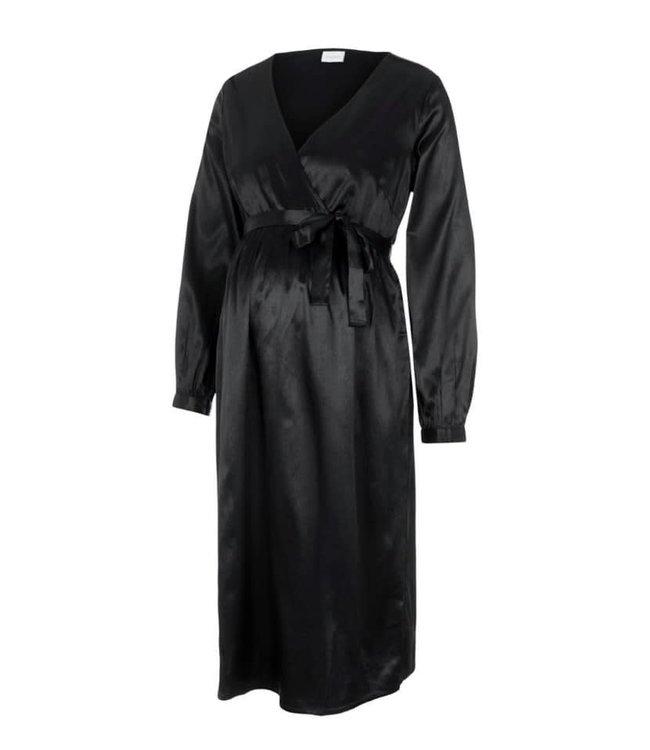 Mamalicious Mlshelby dress black