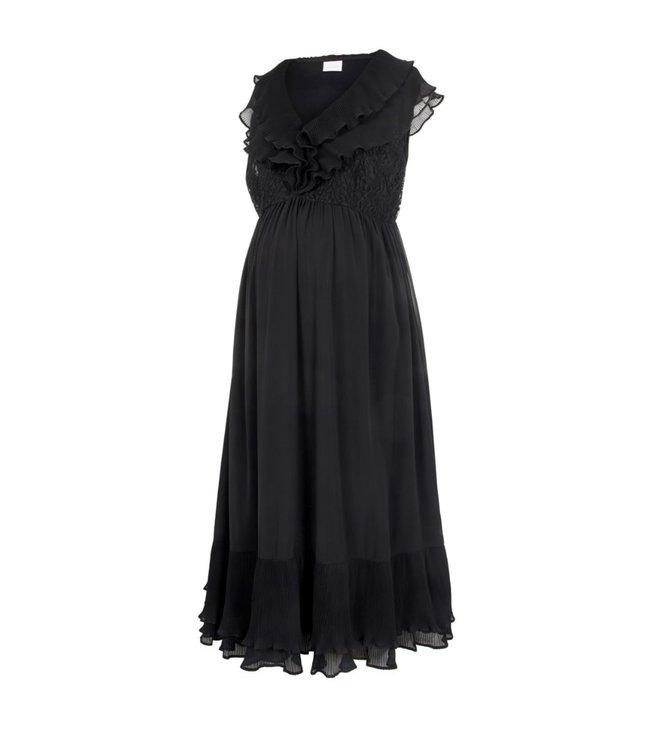 Mltaylor cap midi dress