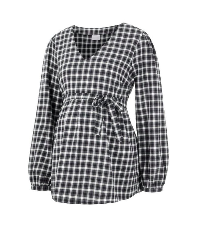 Mlcheeky blouse geruit