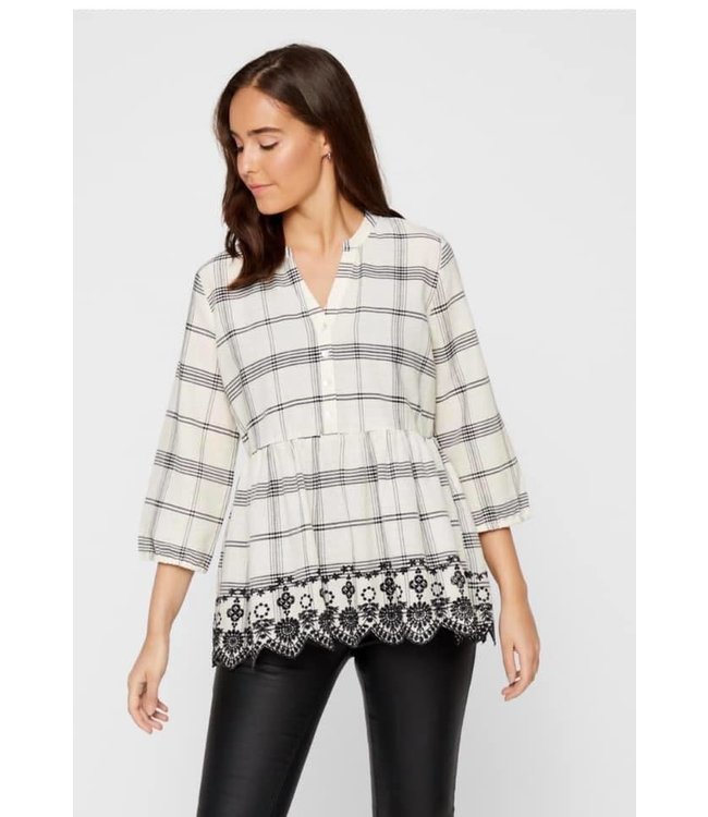 Mlhanni woven top