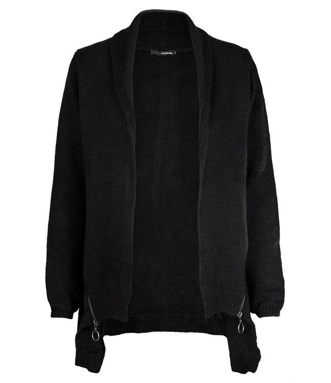 Vest Zip black
