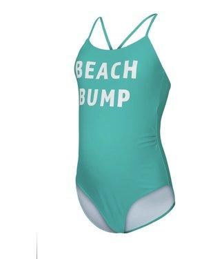 Mamalicious Mlminia badpak beachbump print groen
