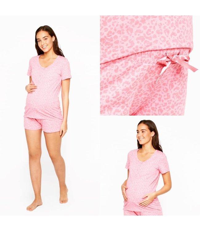 Mlchill lia pj leo pink short