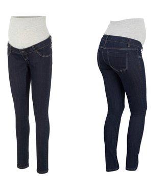 Mamalicious Mljulia unwashed slim jeans