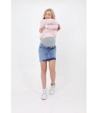 L2W Denim skirt used wash