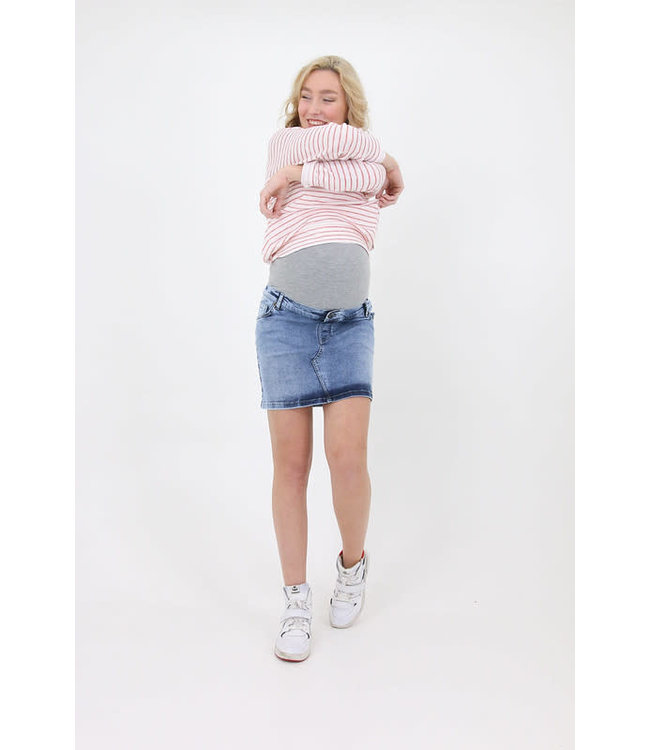 Denim skirt used wash