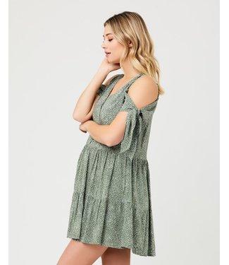 Ripe Lottie Tie Sleeve dress