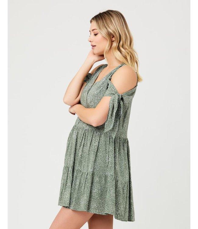 Lottie Tie Sleeve dress