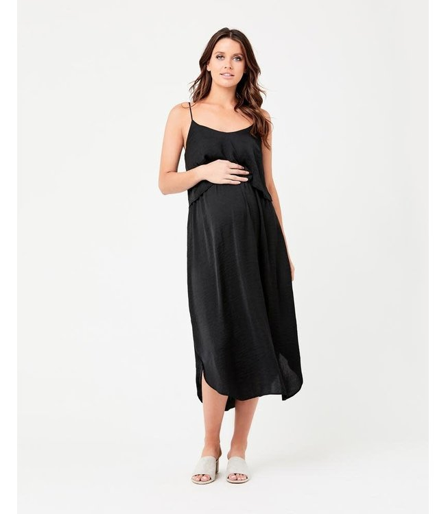 Nursing slp dress black