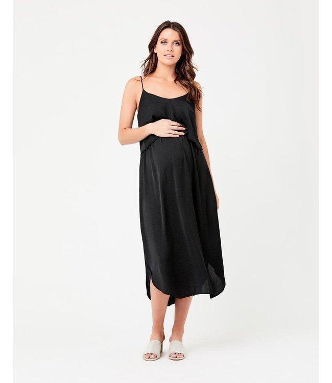 Ripe Nursing slp dress black
