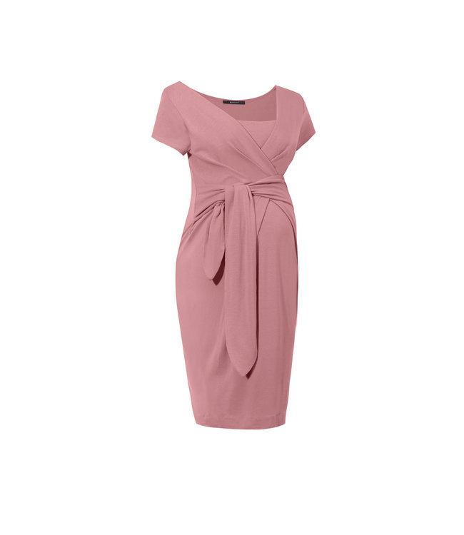 Dress Holly New grey pink