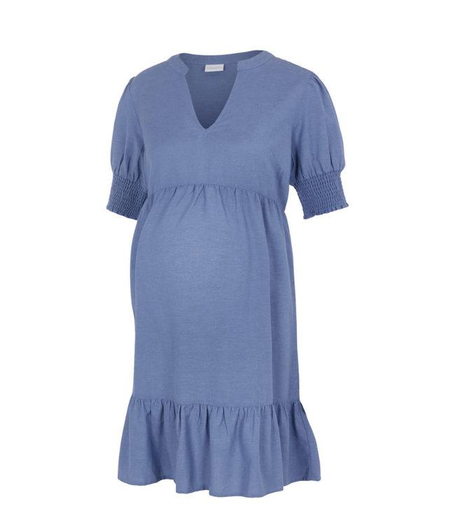 Mlchia woven dress blue